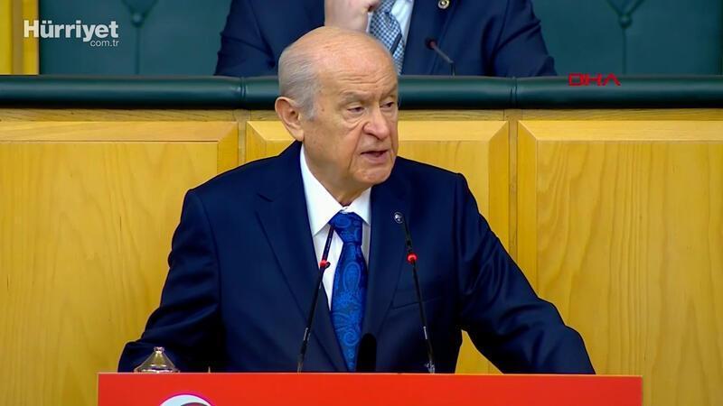 MHP lideri Devlet Bahçeli, partisinin grup toplantısında konuştu