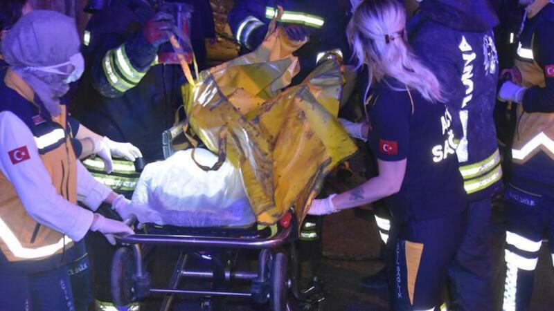 Konya'da yangın faciası, 3 çocuk öldü