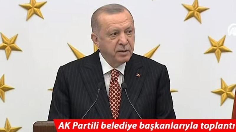 Cumhurbaşkanı Recep Tayyip Erdoğan, AK Partili belediye başkanlarıyla buluştu