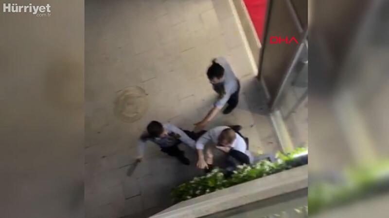 Bağcılar'da güvenlik görevlileri doktoru böyle darbetti