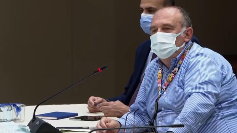 Prof. Dr. Ateş Kara, basın toplantısında açıklamalarda bulundu