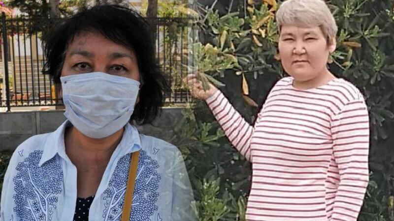 Kazak kadın, 10 gündür kayıp kız kardeşini arıyor