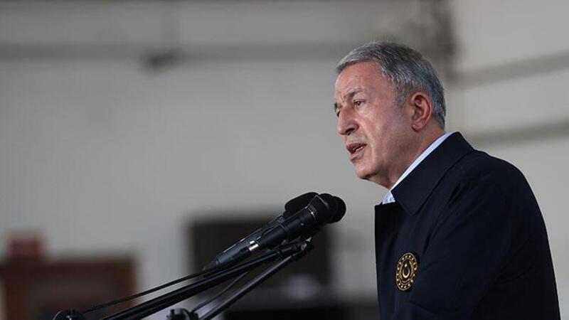 """Milli Savunma Bakanı Akar'dan """"terörü bitireceğiz"""" mesajı"""