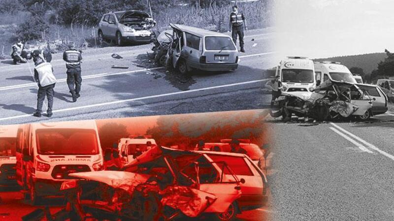 Ciple çarpışan otomobildeki karı-koca öldü, 4 yaralı