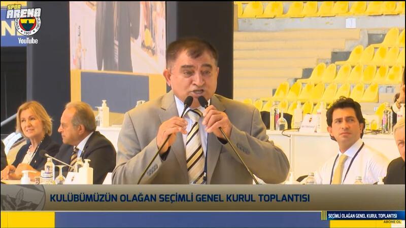 Fenerbahçe kongresine damga vuran üye! Konuşması olay oldu...