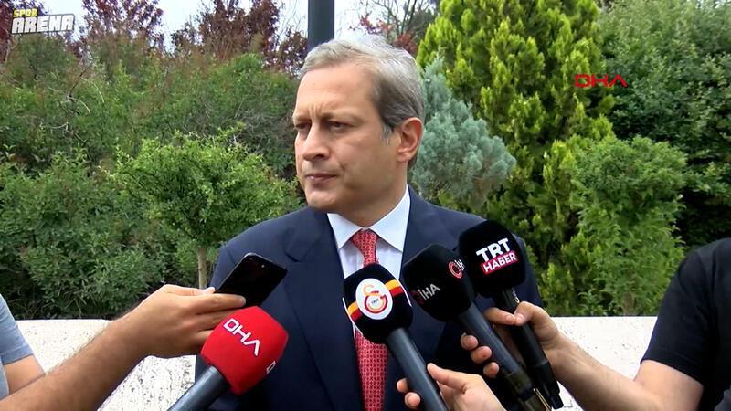 Galatasaray Başkanı Burak Elmas açıklamalarda bulundu,