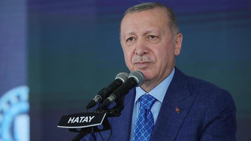 Cumhurbaşkanı Erdoğan, Hatay'da toplu açılış töreninde açıklamalarda bulundu