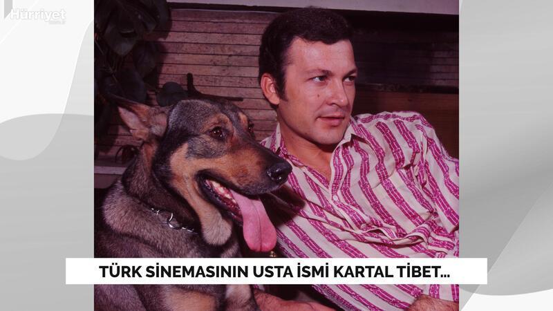 Türk sinemasının usta ismi Kartal Tibet…