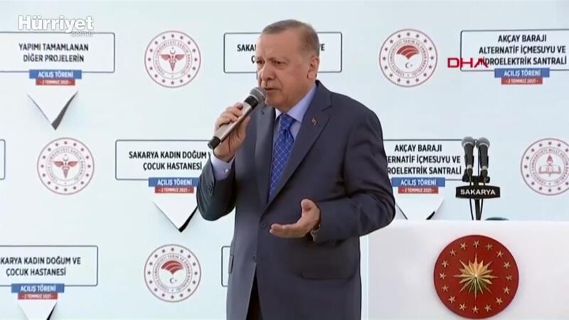 Cumhurbaşkanı Erdoğan'dan Sakaryalılara şehir hastanesi müjdesi