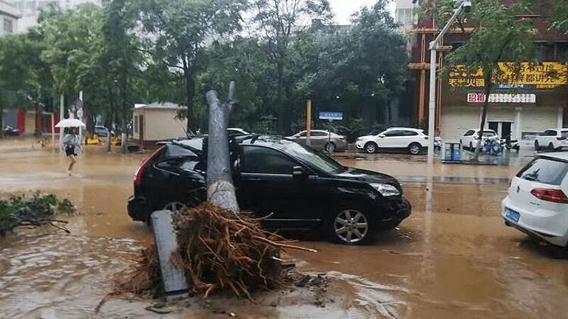 Çin'de yaşanan sel felaketinde bilanço artıyor