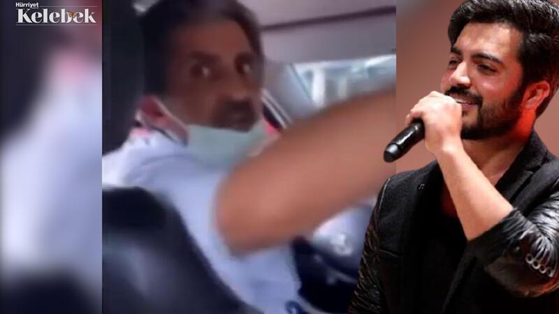 Yusuf Güney taksi şoförüyle tartıştı
