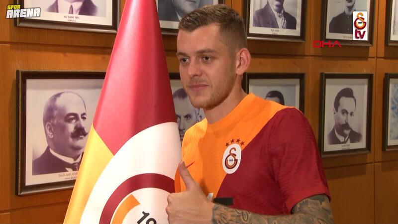 Galatasaray, Alexandru Cicaldau'yu 5 yıllığına renklerine bağladı