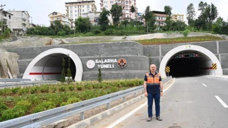 Bakan Karaismailoğlu Rize'de açıklamalarda bulundu