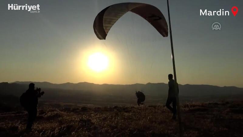 Ayrancı Geçidi yamaç paraşütçülerine ev sahipliği yaptı