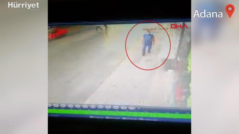 Son anda fark etti! Adana'da yolda yürüyen bir kişi ölümden saniyelerle kurtuldu