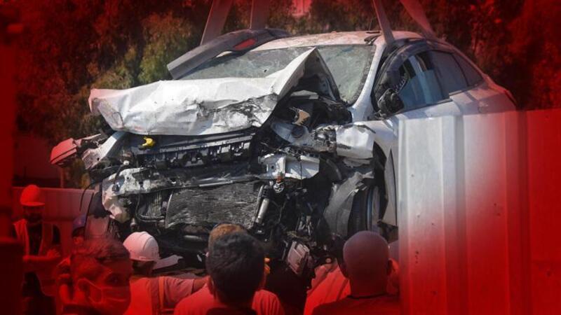 İzmir'de otomobil metro kazısına uçmuştu! Acı haber geldi