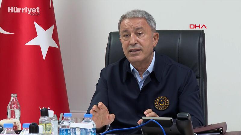 Milli Savunma Bakanı Akar'dan Yunanistan'a 'Silahlanma yarışı' tepkisi