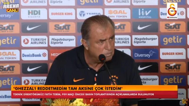 Galatasaray'da Fatih Terim ve Muslera basın toplantısı düzenliyor! PSV öncesi kızdı...