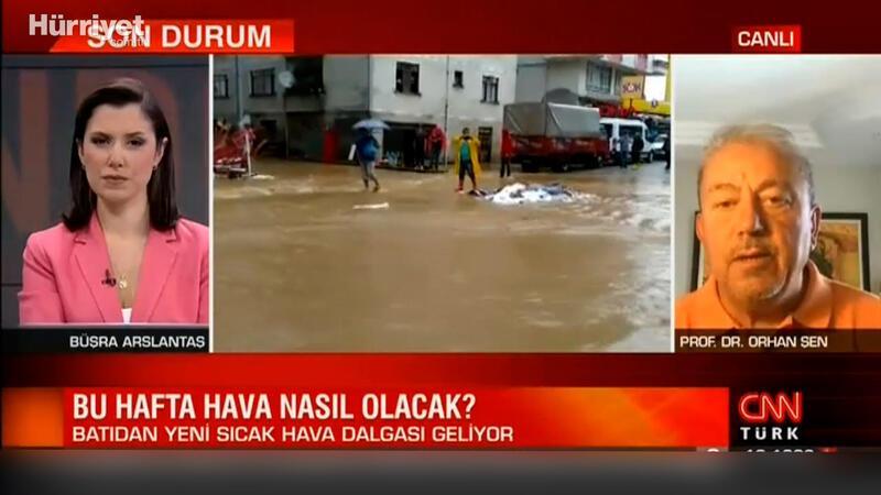 Karadeniz'de sel riski var mı? Prof. Dr. Orhan Şen canlı yayında açıkladı