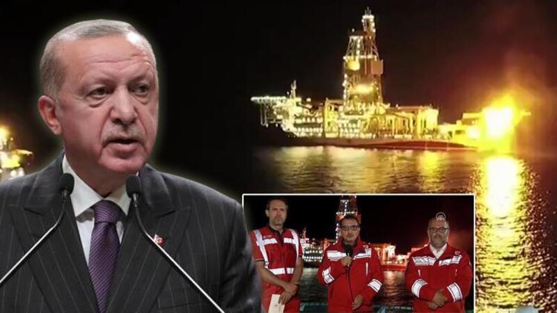 """Cumhurbaşkanı Erdoğan, """"Sakarya Sahası Gaz Yakma Töreni""""ne canlı bağlantıyla katıldı"""