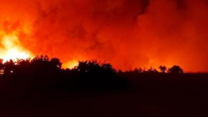 Osmaniye'deki yangın ikinci gününde