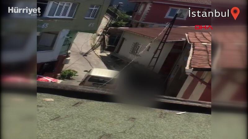 Beyoğlu'ndaki dehşet; dünürlerine kurşun yağdırdığı anlar kamerada
