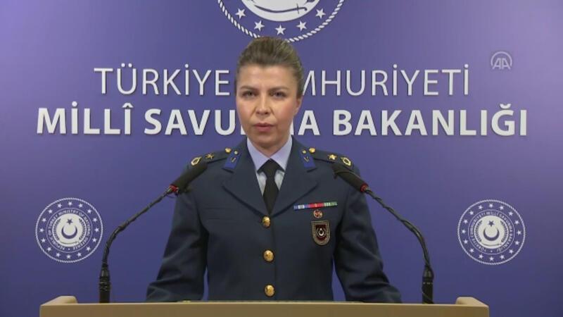Milli Savunma Bakanlığı'ndan sınır ihlali açıklaması
