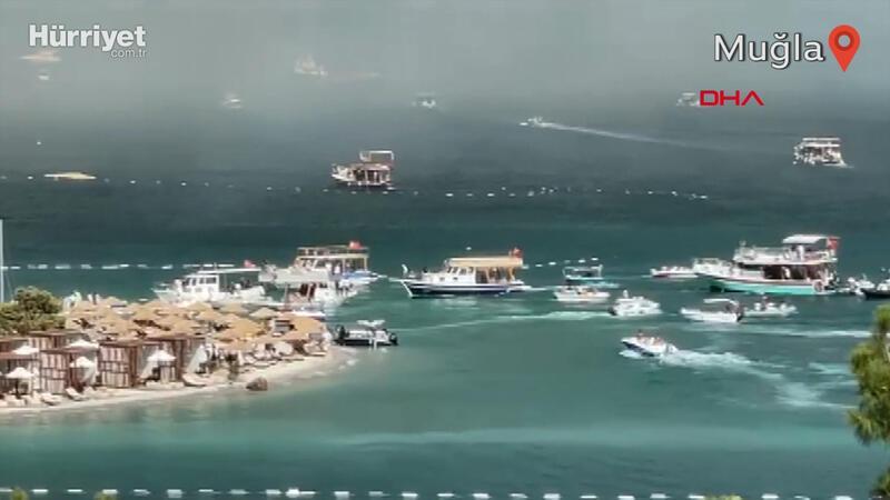 Güvercinlik bölgesindeki otellerde tatilciler tahliye ediliyor