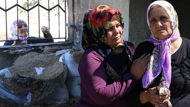 10 yıl önce bakkalı yanmıştı, Adana'daki yangında şimdi de evi yandı