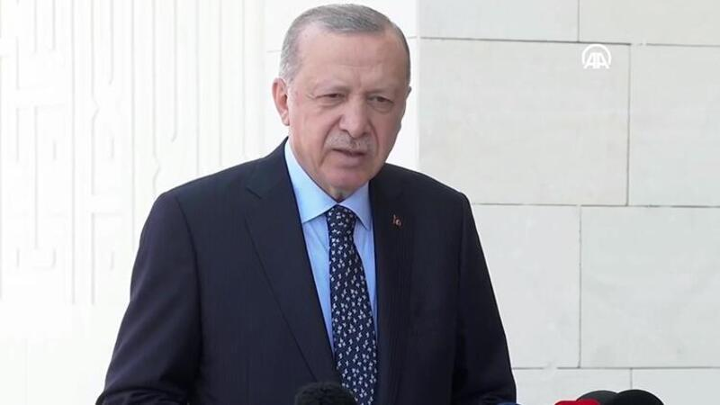 Cumhurbaşkanı Erdoğan, cuma namazı sonrası açıklamalarda bulundu
