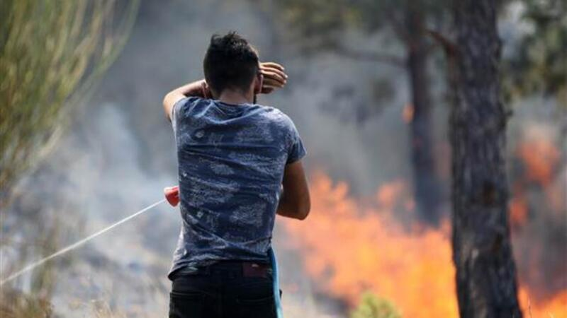 Silifke'deki orman yangınına müdahale sürüyor