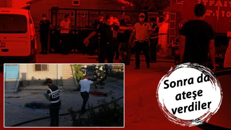 Konya'da katliam! Evi basıp 6 kişiyi öldürdüler