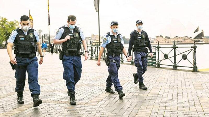 Avustralya'da ordu devrede! Askerler karantina uygulamasına yardım edecek
