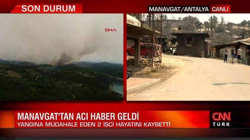 Manavgat'taki yangından acı haber geldi