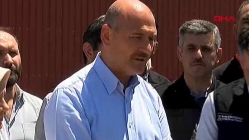 İçişleri Bakanı Süleyman Soylu yangınlarla ilgili açıklamalarda bulundu