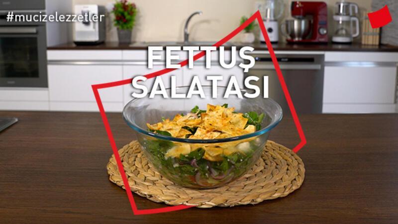 Fettuş Salatası Tarifi | Mucize Lezzetler