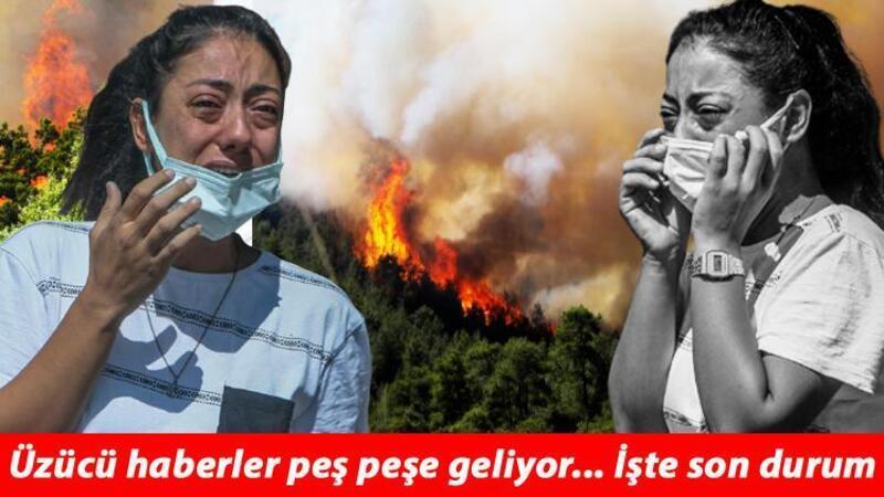 Antalya'da Gündoğmuş ilçe merkezinin tahliyesine başlandı