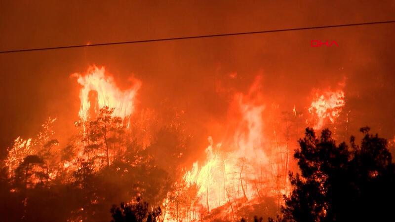Türkiye genelinde yangınlar sürüyor