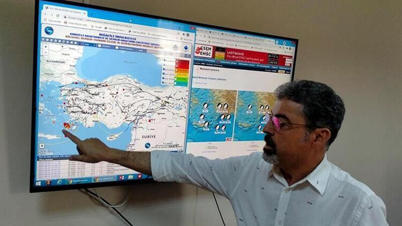 Prof. Dr. Sözbilir: Datça depremleri için korkmamıza, panik yapmamıza gerek yok