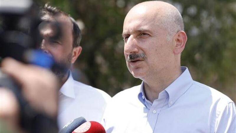 Ulaştırma ve Altyapı Bakanı Karaismailoğlu, İbradı'da incelemelerde bulundu