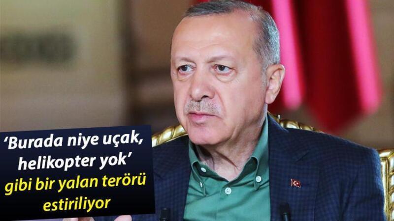 Cumhurbaşkanı Erdoğan, canlı yayında gündeme ilişkin açıklamalarda bulundu