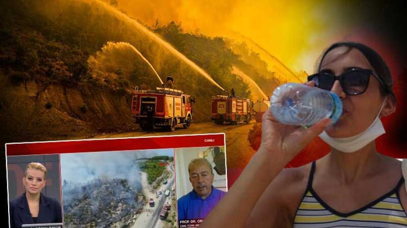 Yangın bölgesine yağış geliyor! Prof. Dr. Orhan Şen açıkladı
