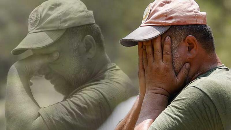 Manavgat'ta alevlerin ortasında kalan orman işçisinin telsizde söyledikleri ağlattı