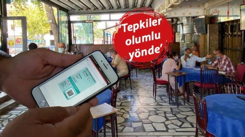 Aşısızların kahveye alınmaması uygulaması Ankara'da başladı