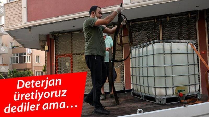 Avcılar'da sahte içki operasyonu: Bina sakinlerini 'deterjan üretiyoruz' diyerek kandırdılar