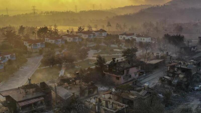 Çevre ve Şehircilik Bakanlığı Manavgat'ta hasar tespit çalışmalarını sürdürüyor