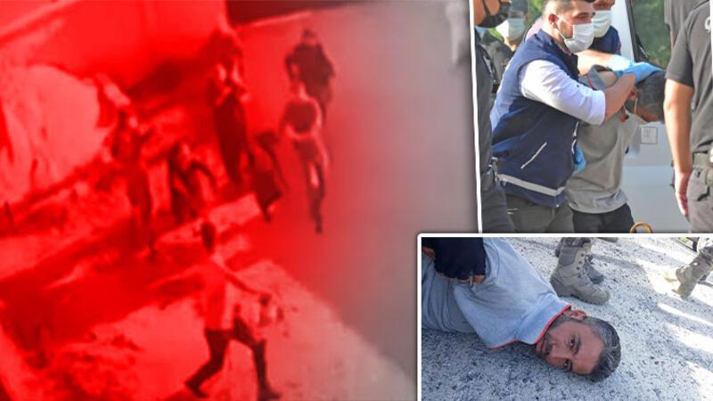 Konya'da 7 kişinin silahla öldürülmesiyle ilgili adliyeye sevk edilen zanlı Mehmet Altun tutuklandı