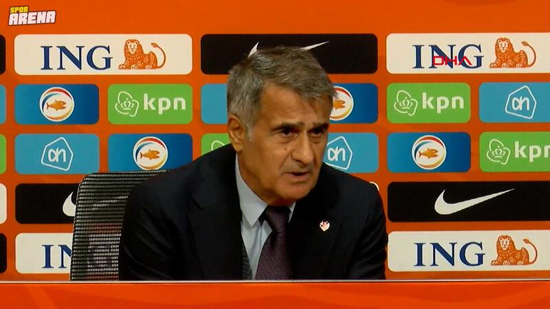 """Şenol Güneş'ten Hollanda maçı sonrası istifa sorusuna cevap: """"Bana yalvardılar..."""""""