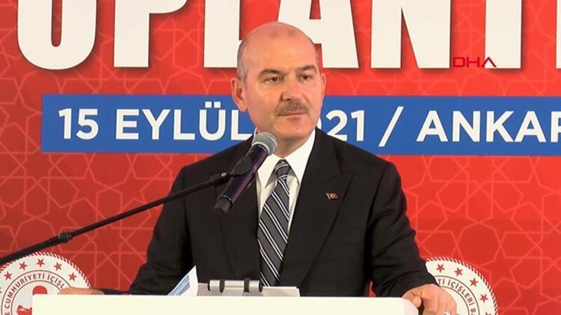 İçişleri Bakanı Soylu'dan göçmen açıklaması