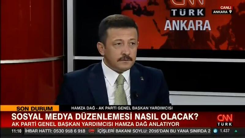 AK Partili Hamza Dağ, CNN TÜRK'te soruları yanıtladı